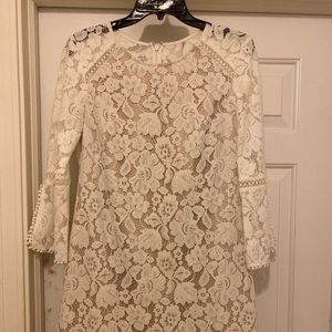 Vince Camuto White Lace Dress